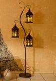 Candle lantern Stock Images