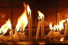 Candle ligh,object Stock Photo
