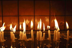 Candle ligh,object Stock Photos