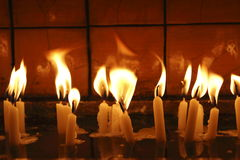 Candle ligh,object Royalty Free Stock Images