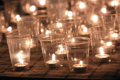 Candle Light. For Memories Activity Royalty Free Stock Photos