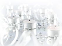 Candle light abstract Royalty Free Stock Photo