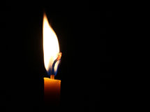 Candle light. As light for life Stock Image