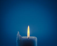 Candle light on background Royalty Free Stock Images