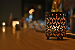 Candle Light Stock Photography