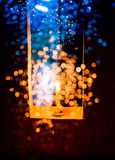 Candle light in Christmas Stock Photos