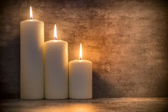 Candle. Candle, candle light composition different rituals Stock Photos