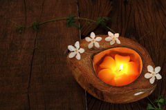 Candle light. Royalty Free Stock Photography