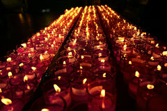 Candle Light of Faith Royalty Free Stock Photography