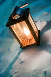 Candle light lantern Royalty Free Stock Photos