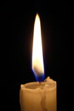 Candle light macro Royalty Free Stock Images