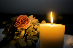 Candle light romantic Royalty Free Stock Photos