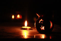 Candle light Stock Images