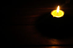 Candle lighting Royalty Free Stock Image