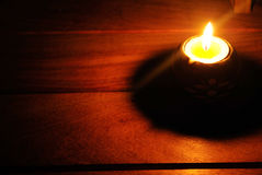 Candle lighting Royalty Free Stock Images