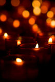 Candle lights Royalty Free Stock Photos