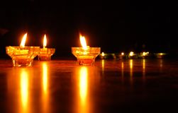 Candle lights Stock Photography