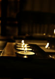 Candle lit Royalty Free Stock Image