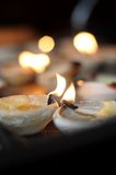 Candle of Love Stock Images