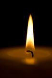Candle. Makro. royalty free stock images