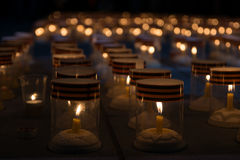 Candle of memory Royalty Free Stock Photo