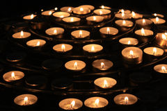 Candle Notre Dame Royalty Free Stock Photo