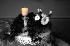Candle o fulgor Imagens de Stock