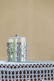 Candle oil. Smokeless on the table Stock Photography