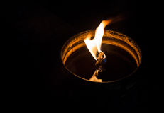 Candle, oil Royalty Free Stock Photos