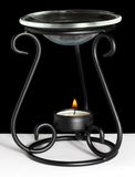 Candle Oil Warmer Royalty Free Stock Photography