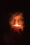 Candle portrait