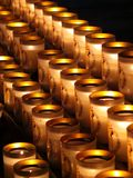 Candle of prayer Royalty Free Stock Image