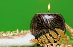 candle ręcznika Obraz Royalty Free