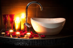 Romantic spa Stock Photos