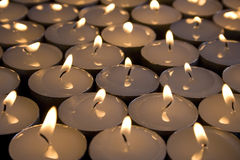 Candle's. Large group of candles Royalty Free Stock Images
