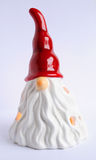 Candle Santa Claus. Santa Claus immitation in form of candle Royalty Free Stock Photo