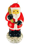 Candle - santa claus Royalty Free Stock Photography