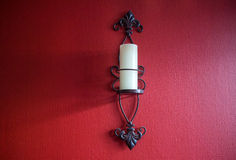 Candle sconce Stock Image