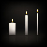 Candle set Royalty Free Stock Photos