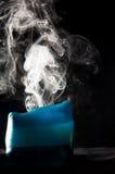 Candle smoke Stock Image