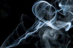Candle smoke odor Royalty Free Stock Photos