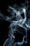 Candle smoke odor Royalty Free Stock Photo