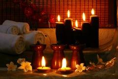 candle spa Στοκ Εικόνα