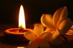 candle spa Στοκ Εικόνες