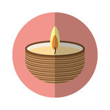 Candle spa aroma therapy Stock Photography