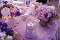 Candle on the table Royalty Free Stock Photos