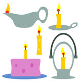 Candle things Royalty Free Stock Photo