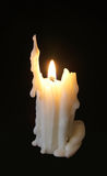 Candle on tne dark background Stock Photo