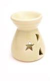 Candle vase Royalty Free Stock Photo