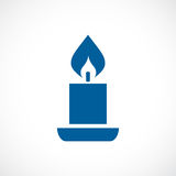 Candle vector icon. Candle icon vector clip art Stock Photo
